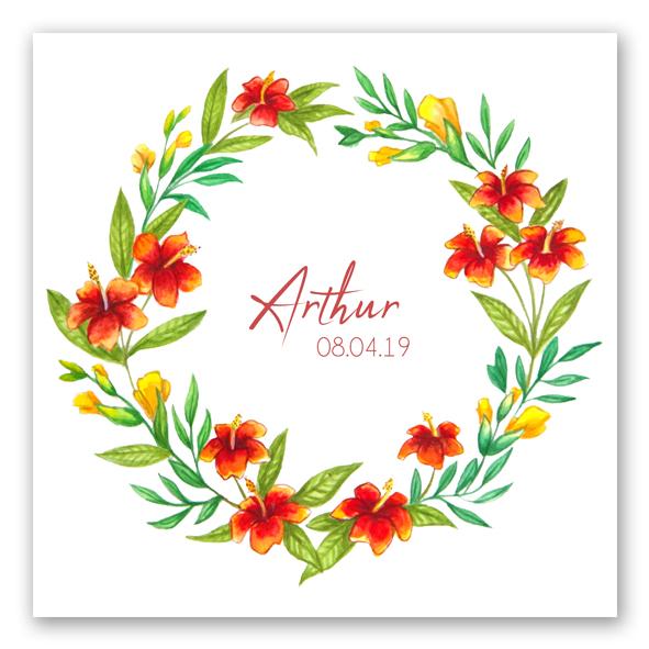 faire-part-hibiscus-recto