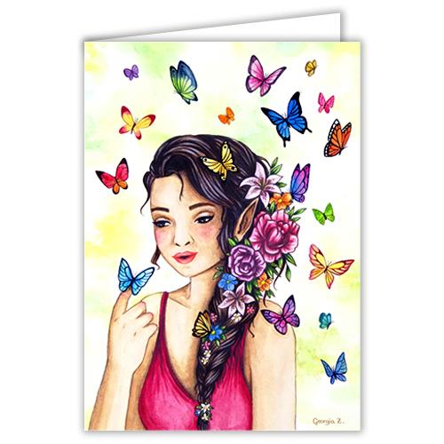 Fée aux papillons